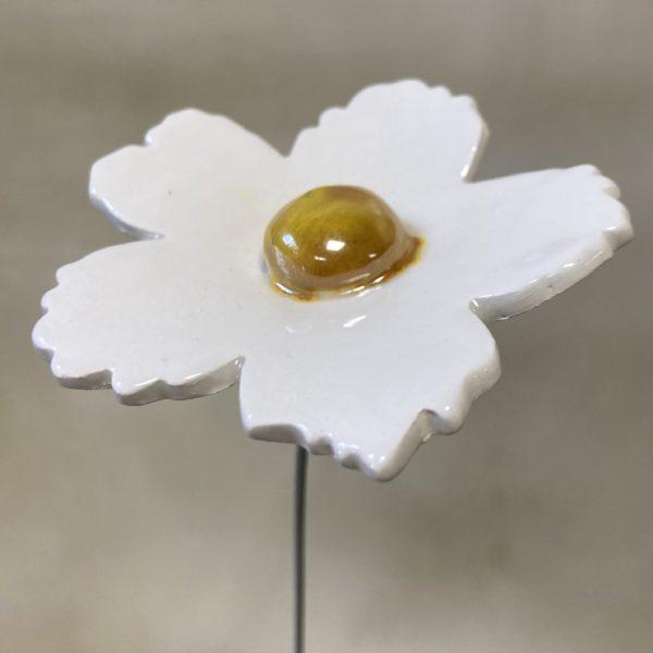 fleur céramique