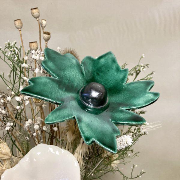 fleur cosmos en céramique